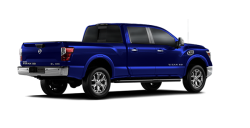 new 2017 nissan titan xd diesel sl for sale in montreal spinelli nissan. Black Bedroom Furniture Sets. Home Design Ideas