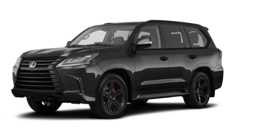 Lexus LX Édition Nightfall 2019