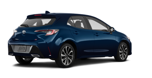 Toyota Corolla Hatchback SE Upgrade 2019