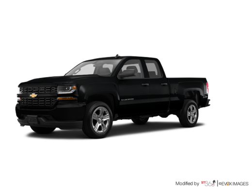 CHEVY TRUCKS SILVERADO 1500 DOUBLE 4X4 1CX 2017