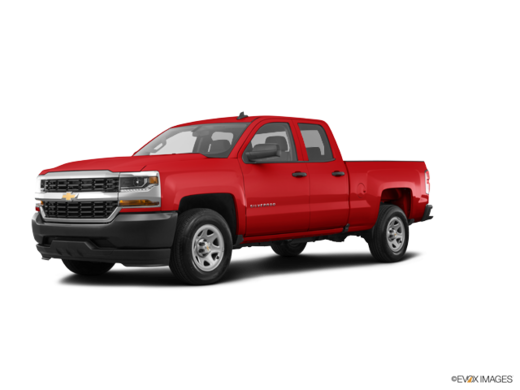 CHEVY TRUCKS SILVERADO 1500 DOUBLE 4X4 1WT 2018