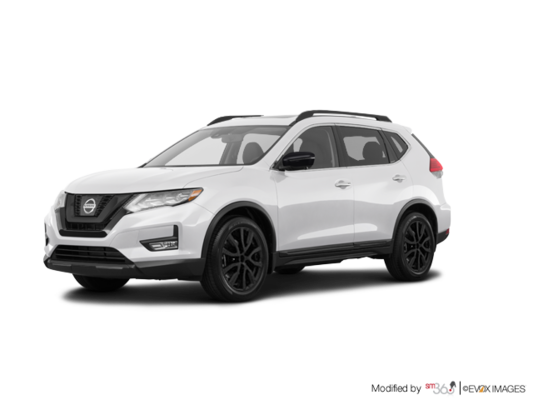 new 2018 nissan rogue sv midnight edition awd cvt at acura brossard jc726060. Black Bedroom Furniture Sets. Home Design Ideas