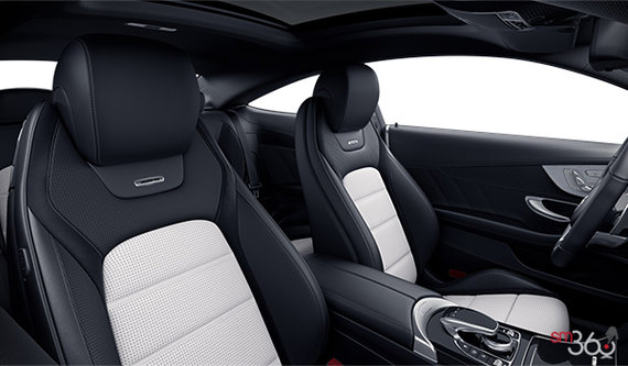 Platinum/Black AMG Nappa Leather