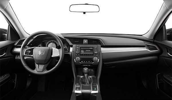 Hamel honda honda civic berline dx 2017 vendre st for Honda civic 9 interieur