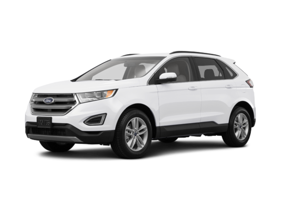 Used Tires Winnipeg >> New 2018 Ford Edge SEL White Platinum Tri-Coat (MET) for ...