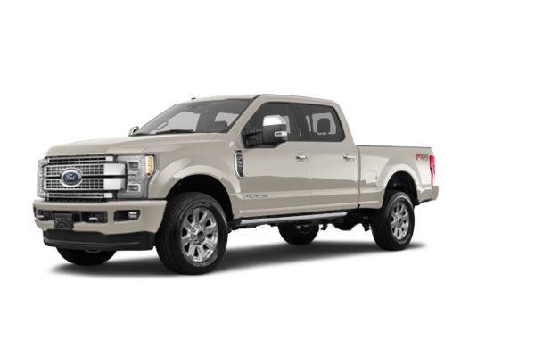 2018 Ford Super Duty F-350 PLATINUM