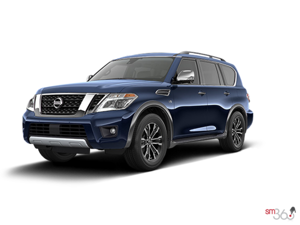 2017 nissan armada sl for sale in coquitlam morrey nissan. Black Bedroom Furniture Sets. Home Design Ideas
