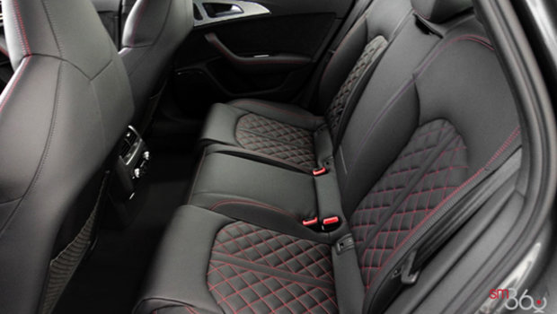 Black Valcona Leather with Parade Red Stitching