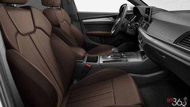Nougat Brown Leather Sport Ventilated Seats (PS8-ZK)