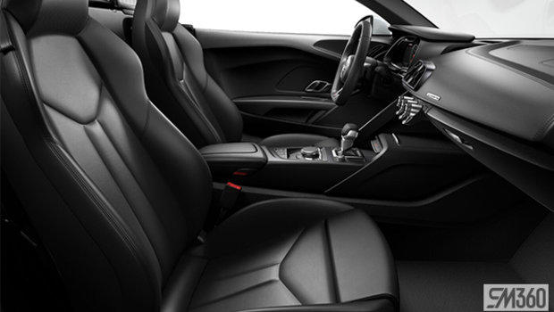 Black Nappa Leather Sport Seats