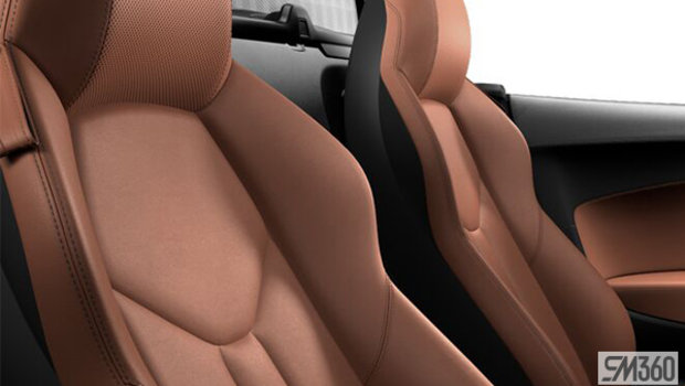 Palomino Brown/Steel Grey Stitch Nappa Leather Sport Seats