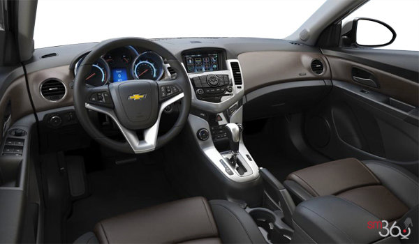 2016 Chevrolet Cruze Limited LTZ | Photo 3 | Jet Black/Brownstone Meridian Leather