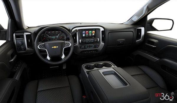 2016 Chevrolet Silverado 1500 LT Z71 | Photo 3 | Jet Black Cloth