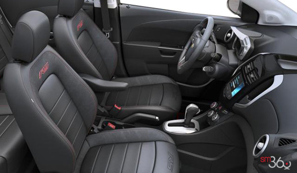2016 Chevrolet Sonic Hatchback RS | Photo 1 | Jet Black Leather