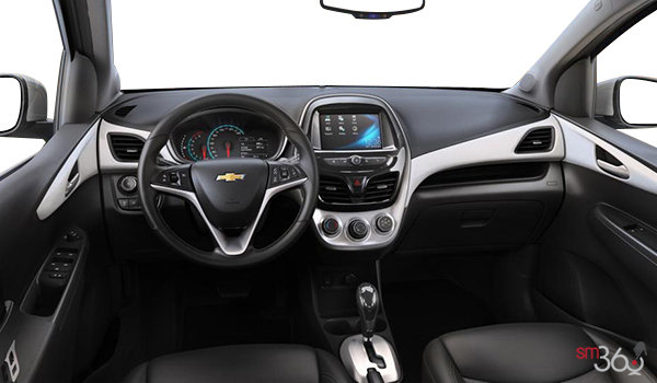 2016 Chevrolet Spark 2LT | Photo 3 | Jet Black/White Letherette