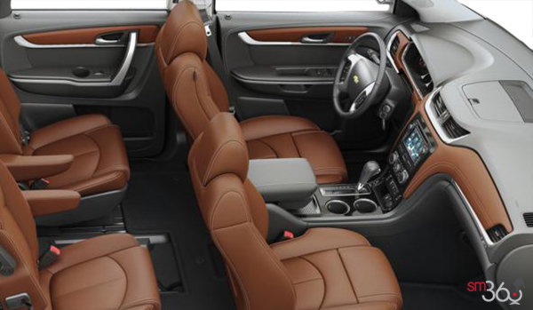 2016 Chevrolet Traverse 2LT | Photo 1 | Ebony/Saddle Leather
