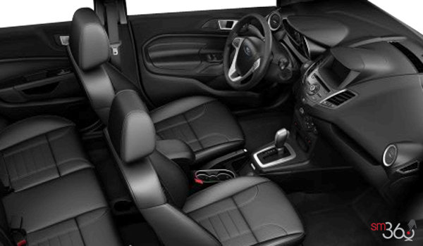 2016 Ford Fiesta TITANIUM SEDAN | Photo 1 | Charcoal Black Leather