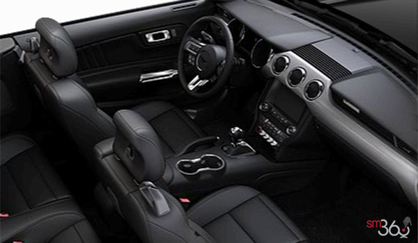 2016 Ford Mustang Convertible EcoBoost Premium | Photo 1 | Ebony Leather