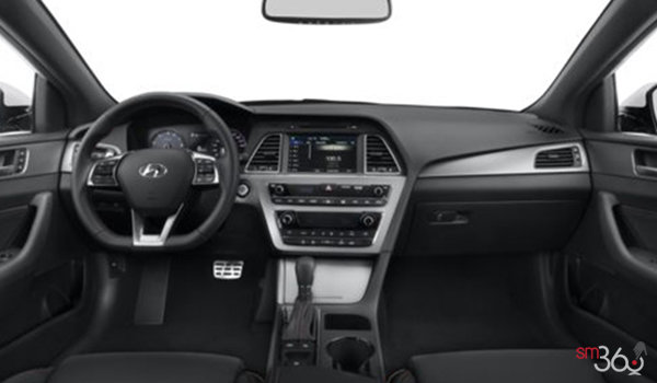2016 Hyundai Sonata SPORT ULTIMATE | Photo 3 | Black Leather w/Black piping