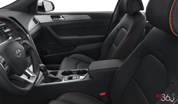 2016 Hyundai Sonata SPORT ULTIMATE | Photo 1 | Black Leather w/Orange piping