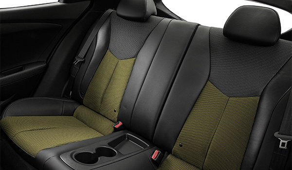 2016 Hyundai Veloster TECH | Photo 2 | Black Cloth/Leatherette w/Yellow Accents