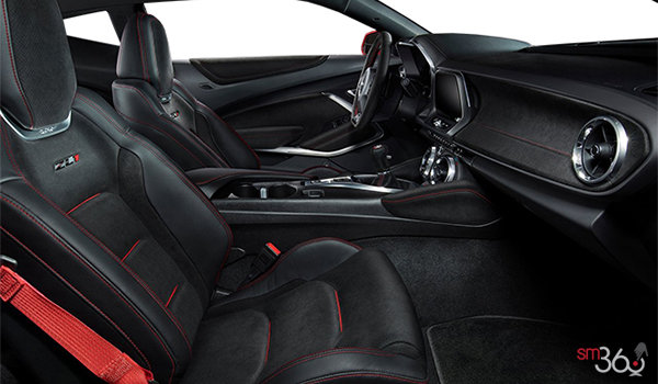 2017 Chevrolet Camaro coupe ZL1 | Photo 1 | Jet Black Leather with Red Accents Sueded Inserts