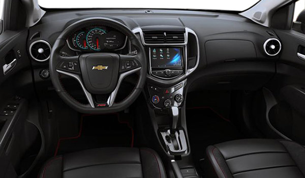2017 Chevrolet Sonic Hatchback PREMIER | Photo 3 | Jet Black Leatherette
