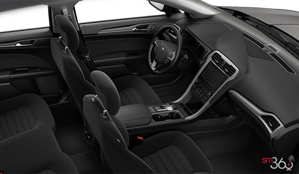 2017 Ford Fusion SE | Photo 1 | Ebony Cloth