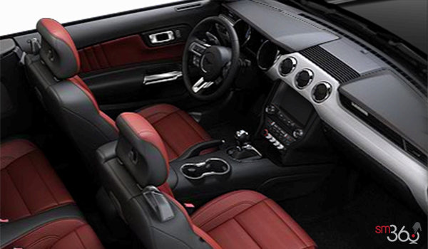 2017 Ford Mustang Convertible EcoBoost Premium | Photo 1 | Red Line Premier Leather