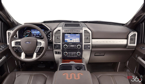2017 Ford Super Duty F-250 KING RANCH | Photo 3 | Java Mesa Antique Leather