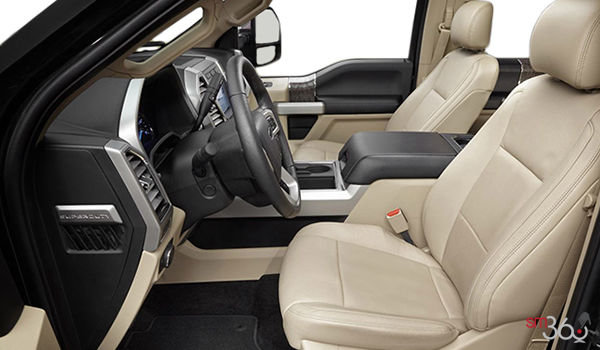 2017 Ford Super Duty F-450 LARIAT | Photo 1 | Camel Premium Leather