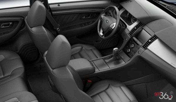2017 Ford Taurus SHO | Photo 1 | Charcoal Black Leather with Charcoal Perforated Inserts SHO embroidered graphics