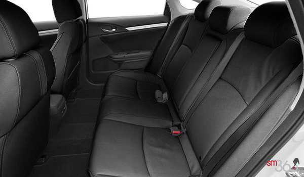 2017 Honda Civic Sedan TOURING | Photo 2 | Black Leather