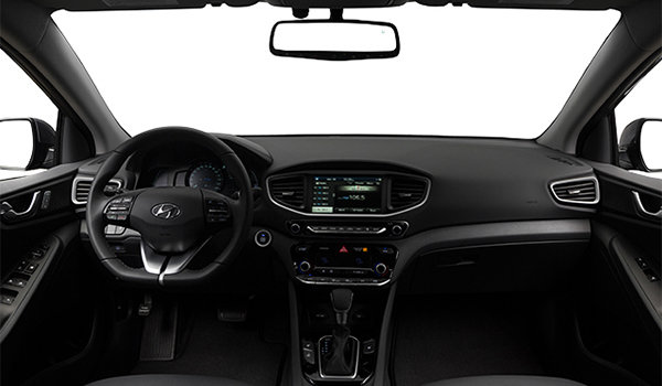 2017 Hyundai IONIQ LIMITED/TECH | Photo 3 | Black Leather/White
