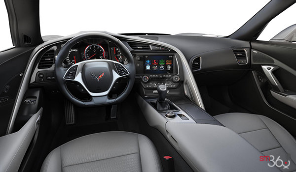 2018 Chevrolet Corvette Coupe Grand Sport 2LT | Photo 3 | Grey Competition Sport buckets Perforated Mulan leather seating surfaces (143-AE4)