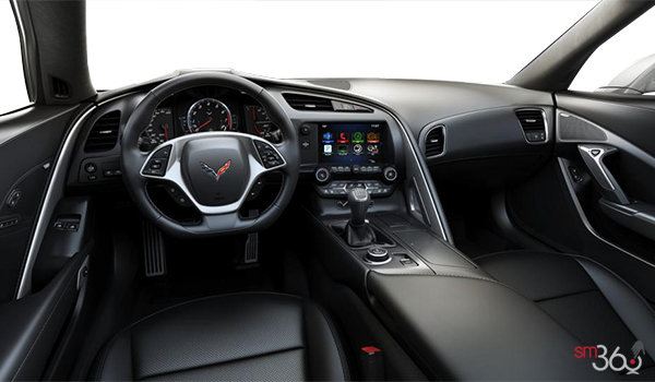 2018 Chevrolet Corvette Coupe Grand Sport 2LT | Photo 3 | Jet Black GT buckets Perforated Mulan leather seating surfaces (193-AQ9)