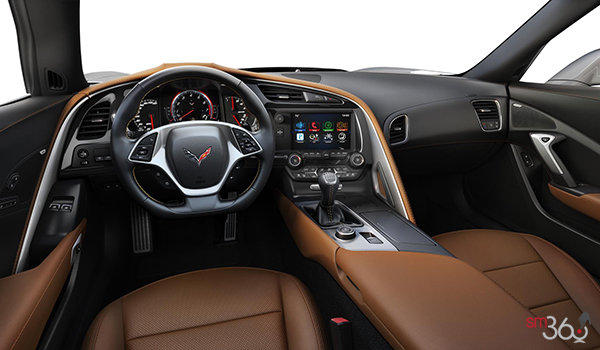 2018 Chevrolet Corvette Coupe Grand Sport 3LT | Photo 3 | Kalahari Competition Sport buckets Perforated Mulan leather seating surfaces (345-AE4)