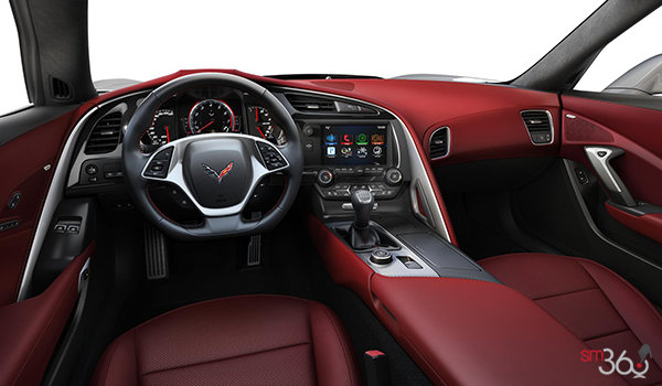 2018 Chevrolet Corvette Coupe Grand Sport 3LT | Photo 3 | Spice Red Competition Sport buckets Perforated Mulan leather seating surfaces (755-AE4)
