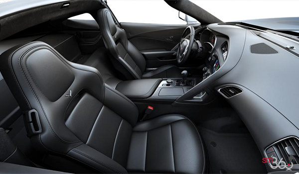 2018 Chevrolet Corvette Coupe Stingray Z51 3LT | Photo 1 | Jet Black GT buckets Perforated Napa leather seating surfaces (195-AQ9)