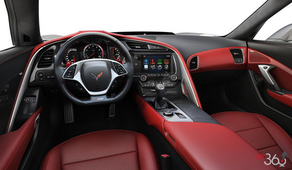 2018 Chevrolet Corvette Coupe Z06 3LZ | Photo 3 | Adrenaline Red Competition Sport buckets Perforated Mulan leather seating surfaces (705-AE4)