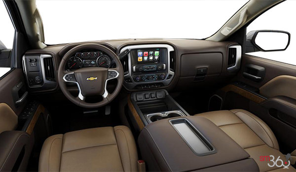 2018 Chevrolet Silverado 2500HD LTZ | Photo 3 | Cocoa/Dune Bucket seats Leather (AN3-H0K)