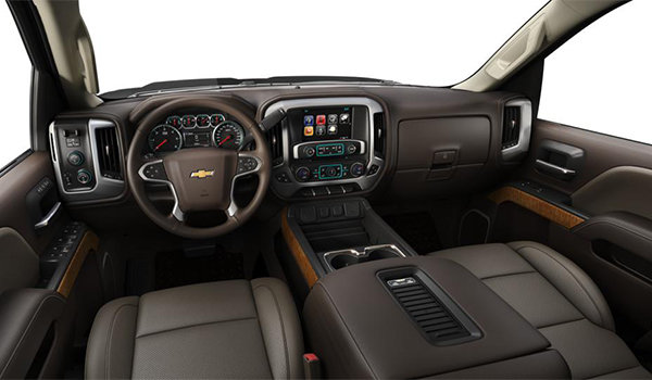 2018 Chevrolet Silverado 3500 HD LTZ | Photo 3 | Cocoa/Dune Perforated Leather Buckets Seats (H3A-AN3