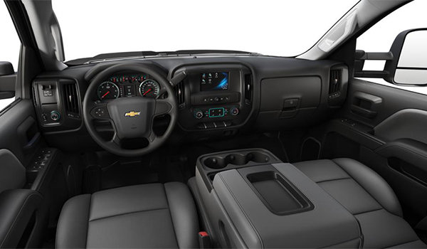 2018 Chevrolet Silverado 3500 HD WT | Photo 3 | Dark Ash/Jet Black Vinyl  (H2Q-AE7)