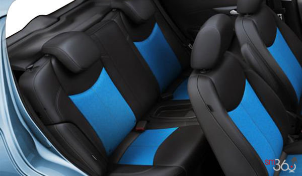 2018 Chevrolet Spark 2LT | Photo 2 | Jet Black/Blue Leatherette