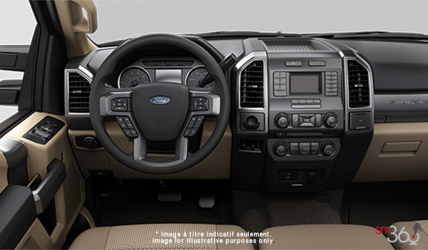 2018 Ford Chassis Cab F-450 XLT | Photo 3 | Camel Cloth Luxury Captain's Chairs (2A)