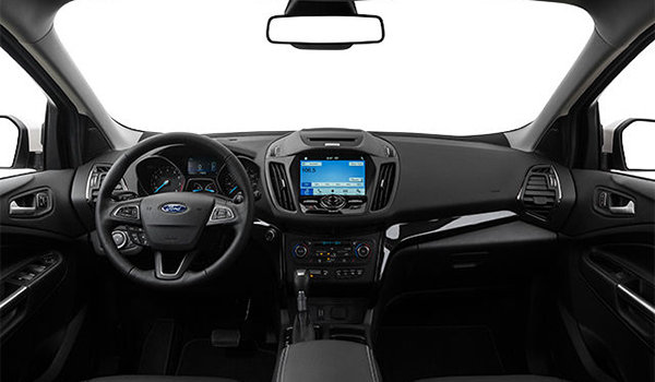 2018 Ford Escape TITANIUM | Photo 3 | Charcoal Black Salerno Leather