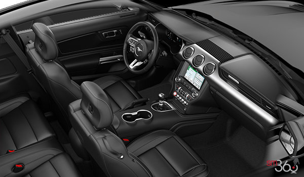 2018 Ford Mustang GT Premium Fastback | Photo 1 | Ebony w/Metallic Grey Stitching Premier Leather