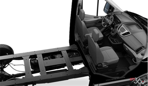 2018 Ford Transit CC-CA CHASSIS CAB | Photo 1 | Pewter Cloth (CK)