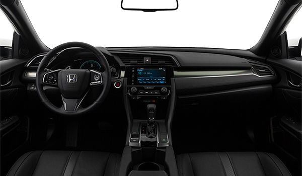 2018 Honda Civic hatchback SPORT TOURING | Photo 3 | Black Leather
