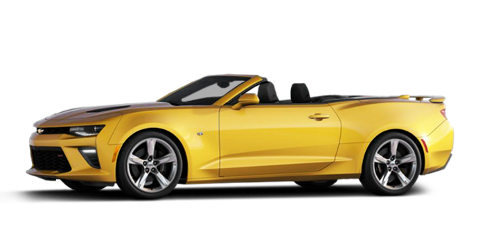 2016 Chevrolet Camaro convertible 1SS | Photo 4 | Bright Yellow